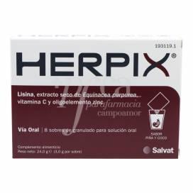 HERPIX 8 SAQUETAS