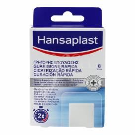 HANSAPLAST FAST HEALING PLASTERS 8 UNITS