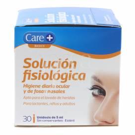 CARE+ SOLUÇÃO FISIOLÓGICA 30 X 5 ML