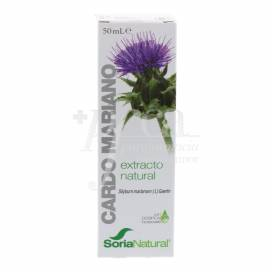 EXTRATO CARDO MARIANO 50 ML SORIA NATURAL