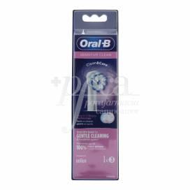 ORAL B SOBRESSALENTES SENSITIVE CLEAN 3 UNIDADES