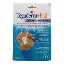 TEGADERM + PAD DRESSING 15X9 CM 5 UNITS