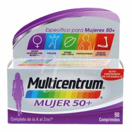 MULTICENTRUM MUJER 50+ 90 COMPS