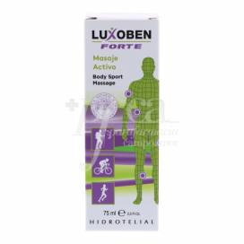 HIDROTELIAL LUXOBEN MASSAGING GEL CREAM 75ML