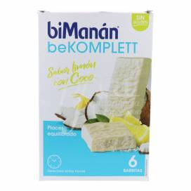 BIMANAN KOMPLETT WHITE CHOCOLATE LEMON AND COCONUT 6 BARS