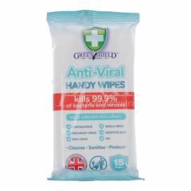 ANTI-BACTERIAL HAND WIPE 15 UNITS