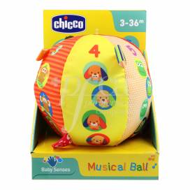 CHICCO PELOTA MUSICAL 3-36 MESES