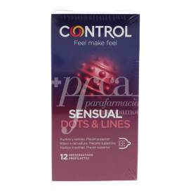 CONTROL CONDOMS TOUCH & FEEL 12 UNITS