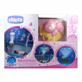 CHICCO NEXT2MOON COLOR ROSA +0 MESES
