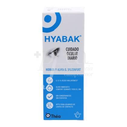 HYABAK MOISTURIZING SOLUTION FOR EYES 10ML