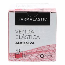 FARMALASTIC ELASTIC ADHESIVE BAND 4,5X5 CM