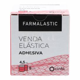 FARMALASTIC FAIXA ELÁSTICA ADESIVA 4,5X5 CM