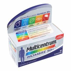 MULTICENTRUM HOMEM 50+ 90 COMPRIMIDOS