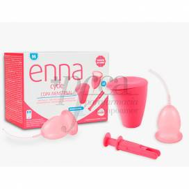 ENNA CYCLE MENSTRUAL CUP SIZE M WITH APPLICATOR