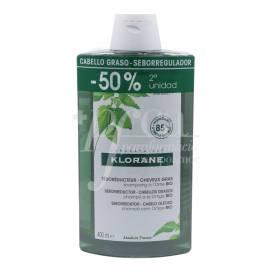KLORANE CHAMPÔ URTIGA 2X400 ML PROMO