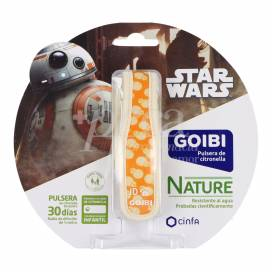 GOIBI CITRONELA BRACELET STAR WARS BB8