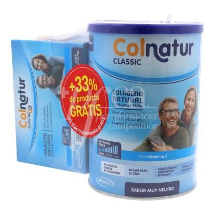 COLNATUR CLASSIC NEUTRO 300 G + COLNATUR CLASSIC GO 10 SOBRES PROMO