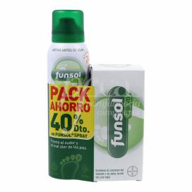 FUNSOL PUDER 60 G + FUNSOL SPRAY 150 ML PROMO