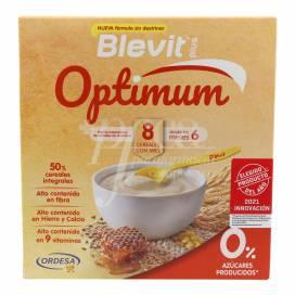 BLEVIT PLUS OPTIMUM 8 CEREAIS COM MEL 400 G