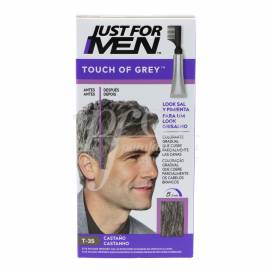 JUST FOR MEN TOUCH OF GREY BRAUN T-35