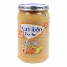 NUTRIBEN GLÄSCHEN 4 FRÜCHTE 235 G