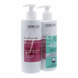 DERCOS DENSI SOLUTIONS FINE HAIR SHAMPOO 400+400 ML PROMO