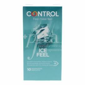 CONTROL ICE FEEL PRESERVATIVOS 10 UNIDADES