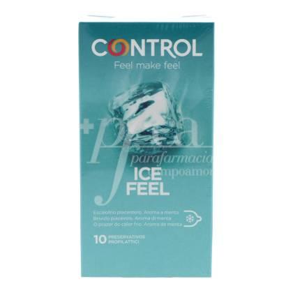 CONTROL ICE FEEL PRESERVATIVOS 10 UDS
