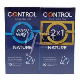 CONTROL PRESERVATIVOS EASY WAY NATURE 10 UNIDADES 2X1 PROMO