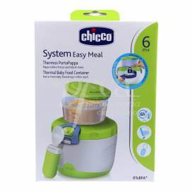 CHICCO SYSTEM EASY MEAL THERMAL BABY FOOD CONTAINER