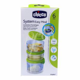 CHICCO SYSTEM EASY MEAL BABY FOOD CONTAINERS