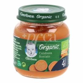GERBER ORGANIC CARROT SWEET POTATO 125 G +4M
