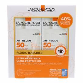 ANTHELIOS XL FLUIDO SIN PERFUME SPF50 2X50 ML PROMO
