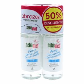 SEBAMED FRESH DEODORANT ROLL-ON 2X50 ML PROMO