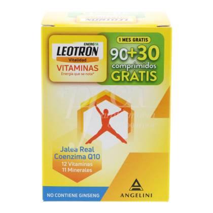 LEOTRON ENERGIA VITAMINAS 90+30 TABLETS PROMO