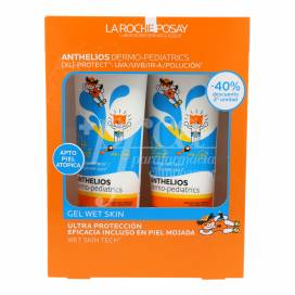ANTHELIOS PEDIATRICS WET SKIN SPF50 2X250 ML PROMO