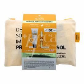 HELIOCARE 360 GEL OIL-FREE 50 ML + ENDOCARE RADIANCE C OIL-FREE 10 AMPULLEN 2 ML + BEAUTY TASCHE PROMO