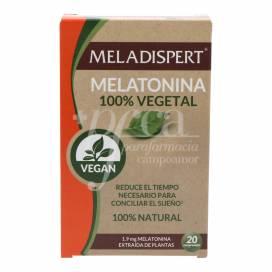MELADISPERT MELATONIN 100% VEGETAL 20 TABLETTEN