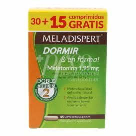 MELADISPERT SONO & EN FITNESS 30 + 15 COMPRIMIDOS PROMO