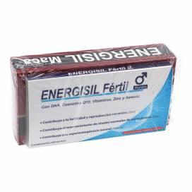 ENERGISIL MACA 30 CÁPSULAS + AMOSTRA GRÁTIS ENERGISIL FERTIL HOMEM PROMO