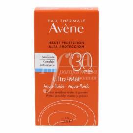 AVENE ULTRA MAT SPF30+ AQUA 50ML