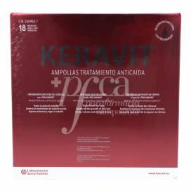 KERAVIT ANTI-QUEDA 6ML 18 AMPOLAS