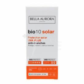 BELLA AURORA BIO10 SUN SPF50 UVA PLUS ANTI-SPOT SUNSCREEN FOR OILY COMBINATION SKIN 50 ML