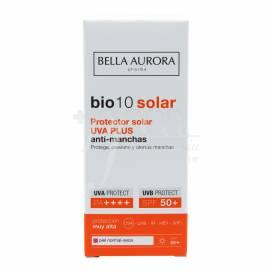 BELLA AURORA BIO10 SOLAR SPF50 UVA PLUS ANTIMANCHAS PIEL NORMAL SECA 50 ML