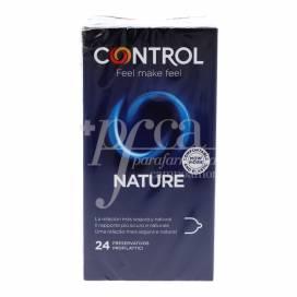 CONTROL CONDOMS ADAPTA NATURE 24 UNITS