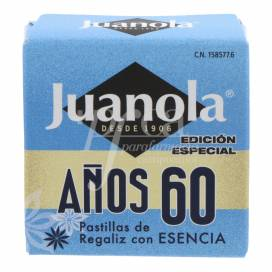PASTILLAS JUANOLA ESENCIA AÑOS 60 5.4 G