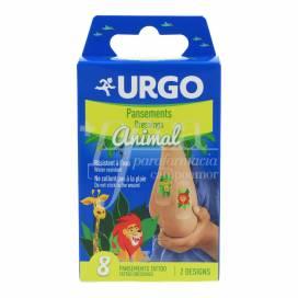 URGO INFANTILES CURATIVOS TATTOO 8 UNIDADES
