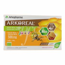 ARKOREAL JALEA REAL FRESCA JUNIOR 500MG 20 AMPOLLAS
