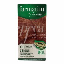 FARMATINT 8R RUBIO CLARO COBRIZO 135 ML