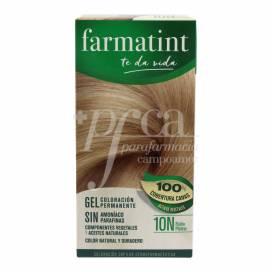 FARMATINT 10N RUBIO PLATINO 135 ML